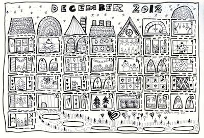 Things to make and do crafts and activities for kids for Free advent calendar coloring pages