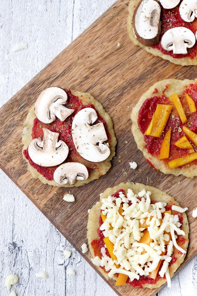 Gesunde und leckere Kinderpizza - ein besonders schnelles Rezept für Kinder