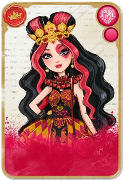 Lizzie Hearts from Ever After High! Love her!