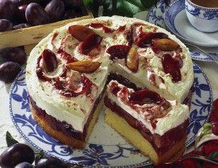 Zwetschen-Torte (Diabetiker)