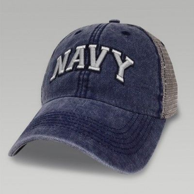 NAVY DASHBOARD TRUCKER HAT (NAVY/GREY)