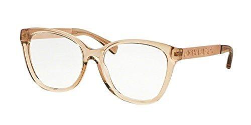 michael kors mk8015f eyeglass frames 3092 54 brown transparent rh pinterest com