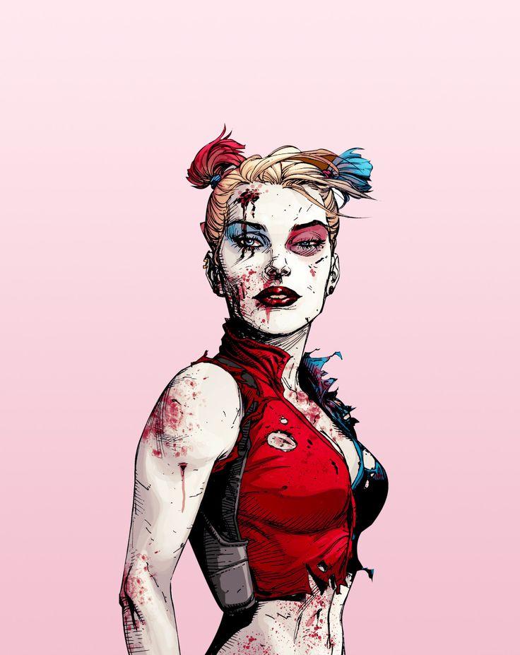 The Batman | zatarras:  Harley Quinn in Suicide Squad #4
