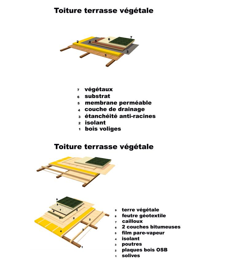 toiture vegetale toiture v g talis e toiture toiture. Black Bedroom Furniture Sets. Home Design Ideas