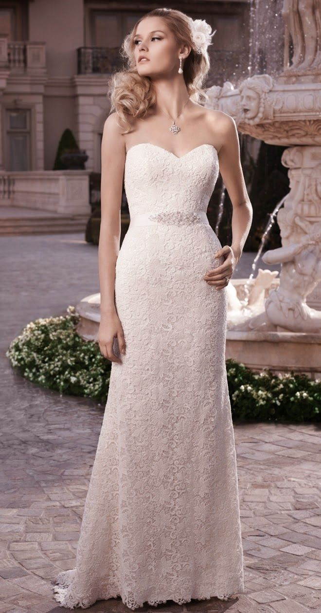 Fabulosos vestidos de novia sencillos | Bodas y Tendencias