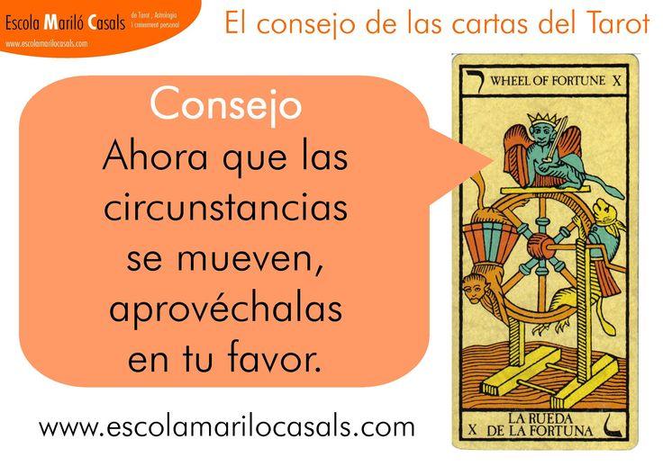 Ahora que las circunstancias se mueven, aprovéchalas en tu favor. #LaRueda #LaRouedeFortune #Tarot #Cartas #Mago #Tiradasdecartas #ArcanosMayores #AprenderTarot #EstudiarTarot #Consejo #Arcano #EcharCartas #EticayTarot #LaminasTarot #LecturaTarot #TarotPsicologico #TarotPredictivo #TarotEvolutivo #TarotEspiritual #Bruja #suerte #fortuna #ruda #evolución #avance #involución #manivela #karma #ciclo #júpiter #diez