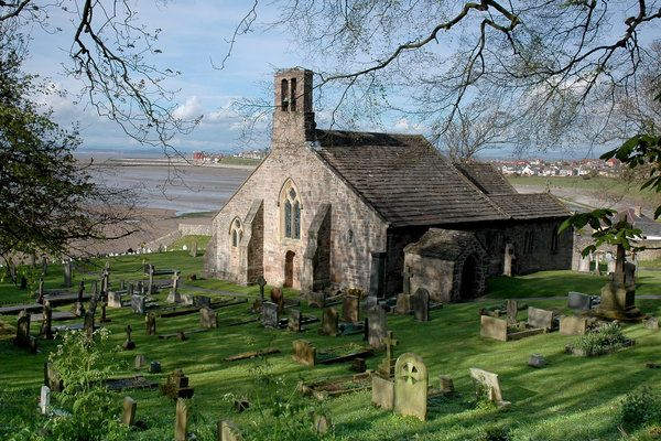 The Church of St. Peter, Heysham ~ Lancashire, England......the first recorded date connected with the church is 1080