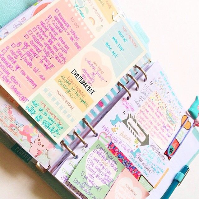 like the busy looking planner