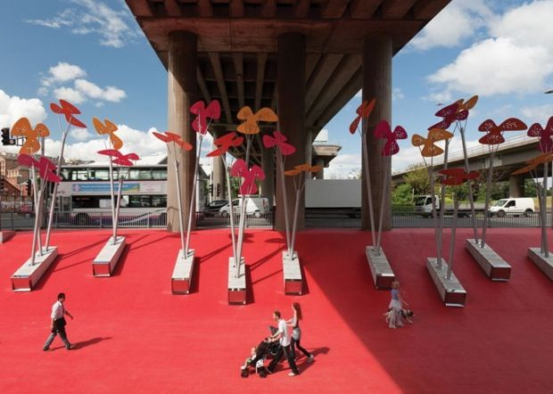 How To Revitalize a Highway Underpass (Hint: Turn it into Munchkinland!) | Co.Design | business + design