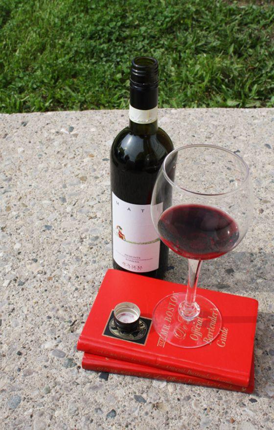 Wino Wednesday :: 2012 Scagliola Mati Barbera   The little Red Heart