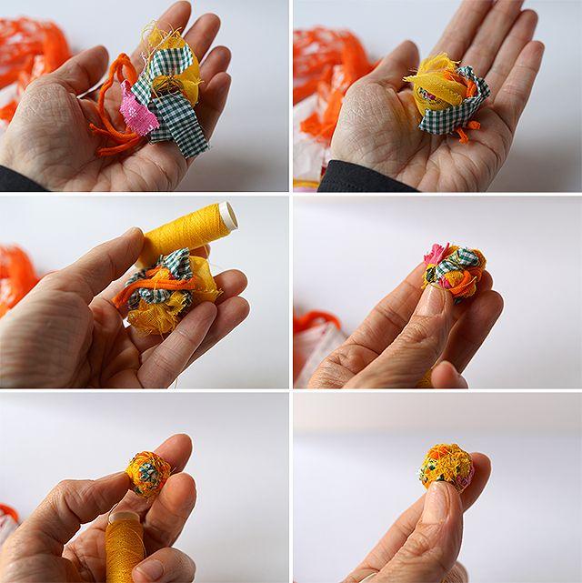 Journey into Creativity: Fabric balls