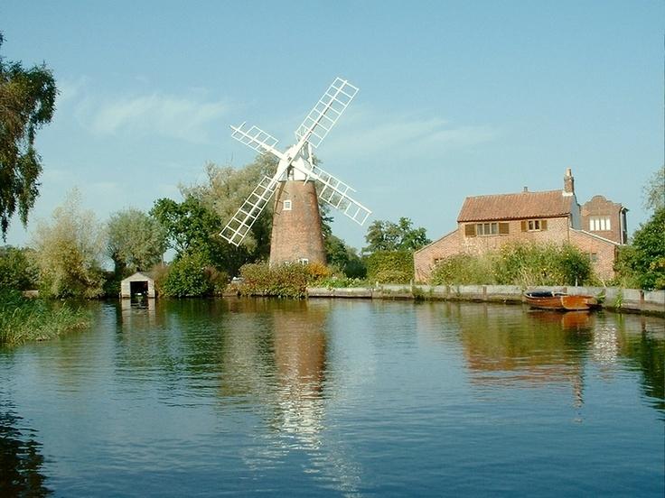 Windmill Norfolk Broads
