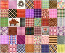 Plaid Collage 30 (500 pieces)