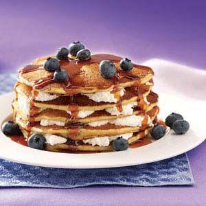 Cheesecake Pancakes, Cheesecake Yum, Blueberry Cheesecake, Blueberries ...