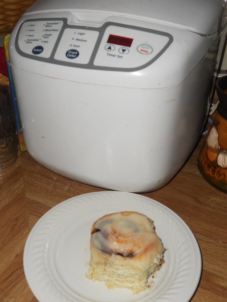 Cinnamon Rolls Made In A Bread Machine No Need To Knead This Is