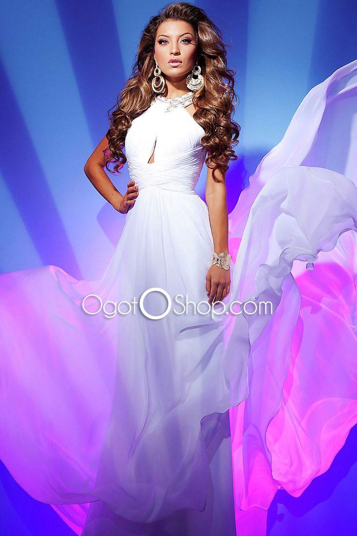 Mejores 187 imágenes de Roupa vestido longo en Pinterest | Vestido ...