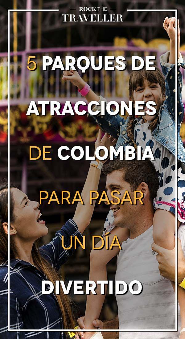 ¿Te gustan los #parques de atracciones? No te pierdas los mejores de #Colombia.