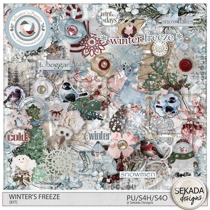 Digital Art :: Element Packs :: Winters Freeze [Elements] by Sekada Designs