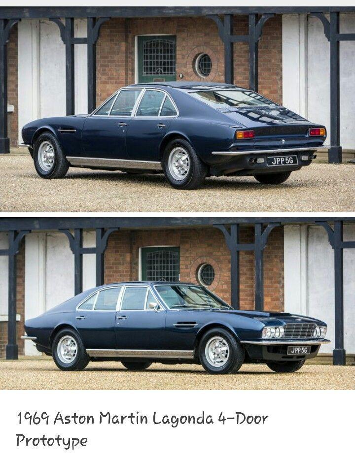 1969 Aston Martin Lagonda 4 Door Prototype Aston Martin Lagonda Aston Martin Classic Cars