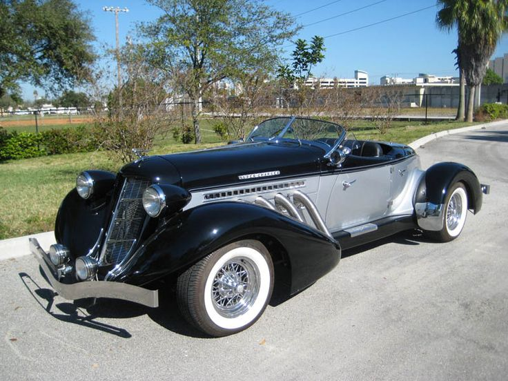 1936 Auburn Boattail Speedster Reproduction