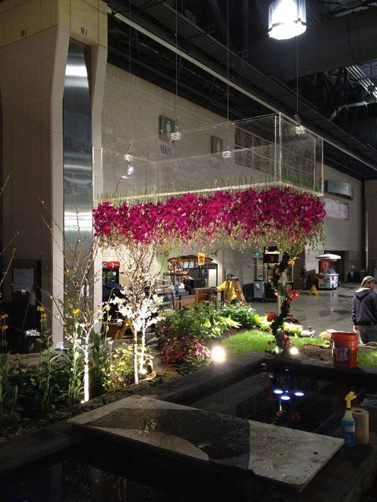 Sullivan Owen hawaiian inspired florals for the Philadelphia Flower Show 2012 - gorgeous.