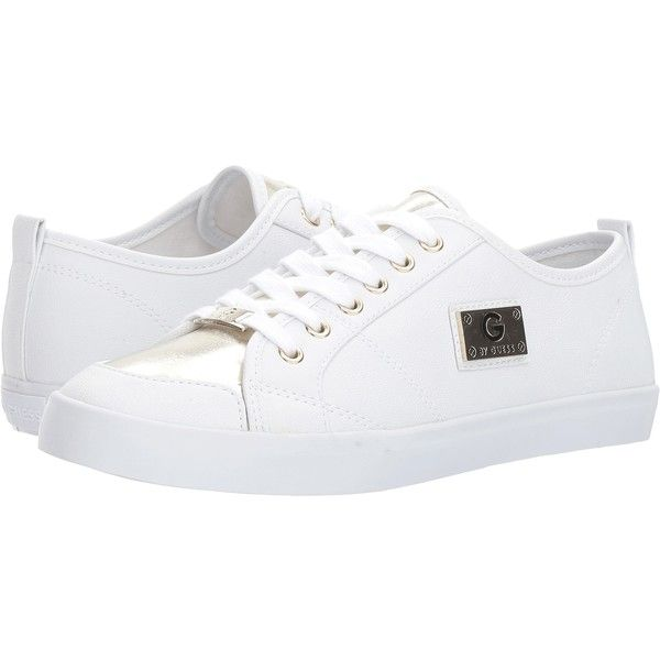 G by GUESS Mallory6 (White/Gold Toe