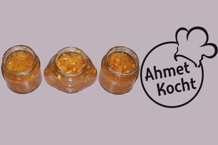 Rezept: Quittenmarmelade mit Ingwer - AhmetKocht - Folge 118