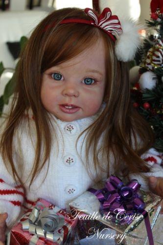 Feuille de Cerise Nursery - reborn toddler doll Bonnie Linda Murray human hair   eBay