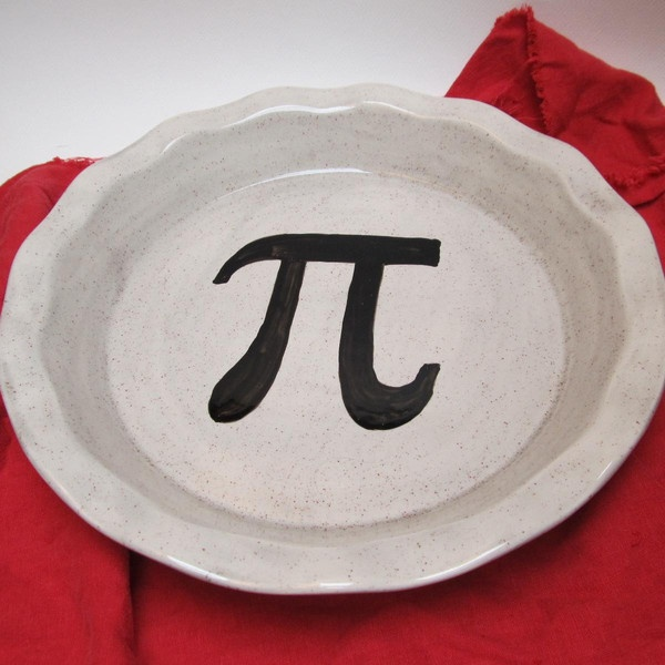 $38 Oh yeah. I went there. Pi Pie Plate in Gray Spice — HaldeCraft