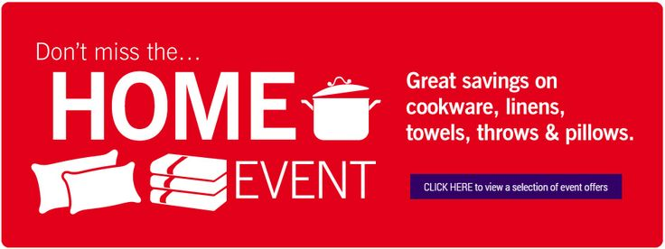 Home Event Savings Banner from Haskins #Web #Digital #Banner #Online #Marketing #Home #Retail #Sale #Event