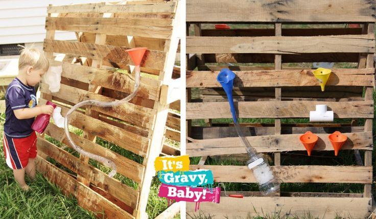 Do-It-Yourself: Homemade Water Wall :: Money Saving Mom®