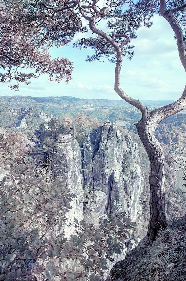 Nostalgic Romantic. Saxon Switzerland by Jenny Rainbow