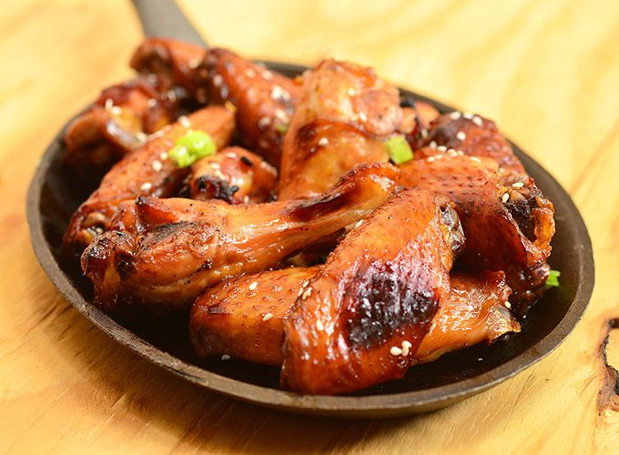 Honey Soy Chicken Wings-finger licking, lip-smacking good chicken wings marinated with soy sauce and honey