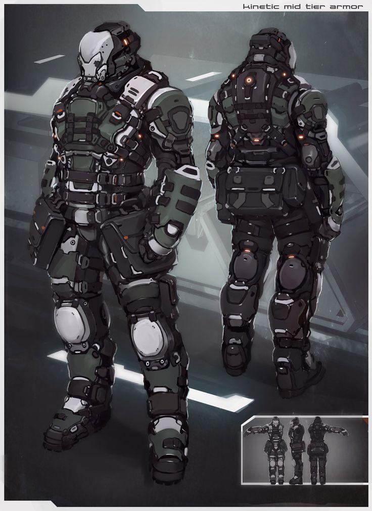kinetic armor by *2-Dpanda on deviantART