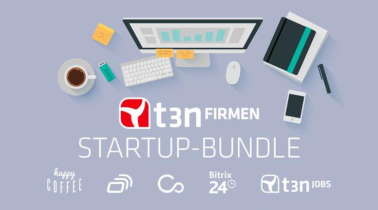 """Gewinn jetzt das """"t3n-Startup-Bundle"""". Viel Glück!"""