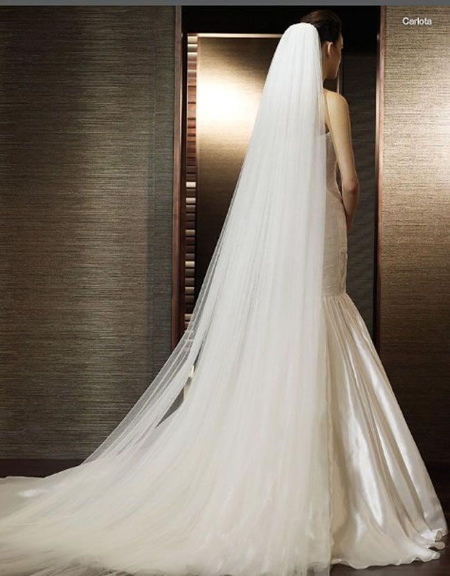 Best 25 Long Veils Ideas On Pinterest