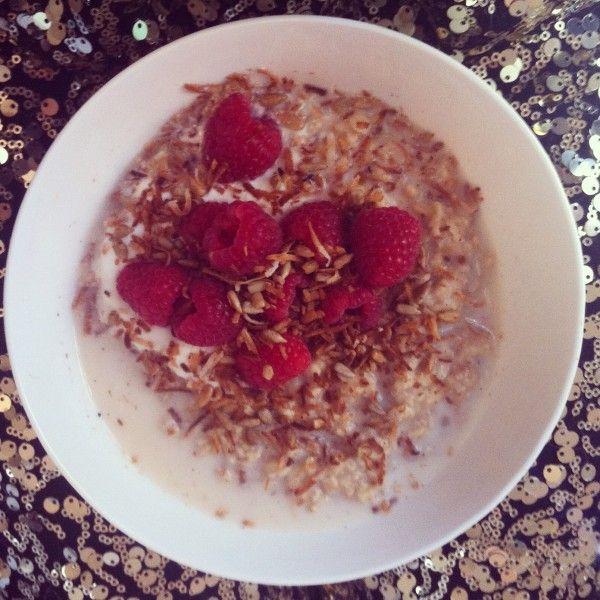Raspberry & Toasted Coconut