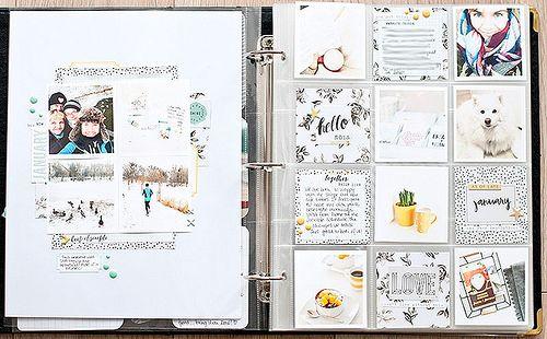 Citrus Twist Kits Pocket Life Sketch Friday January 15, 2016 with Kasia Tomaszewska