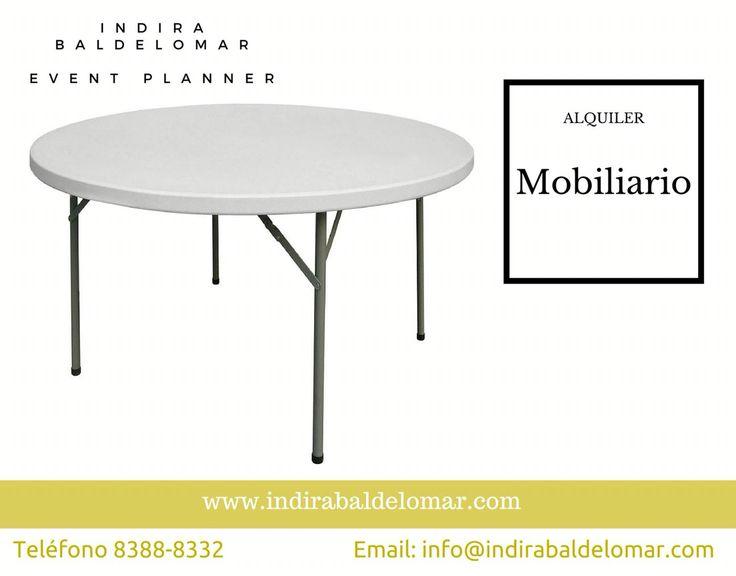 Alquiler de Toldos, Mesas redondas, Mesas rectangulares, sillas, mantelería, cristalería, mesas cocteleras