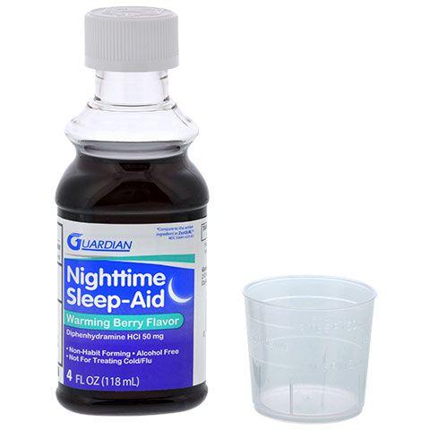 Guardian Warming Berry Nighttime Sleep Aid, 4 oz.