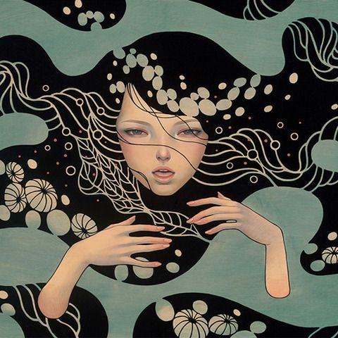 Deep Waters by Audrey Kawasaki