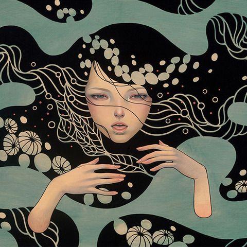 Deep Waters by Audrey Kawasaki