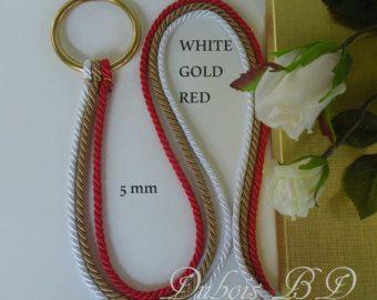 Cord of Three Strands Wedding Unity Cords by DuboisBridalDesigns
