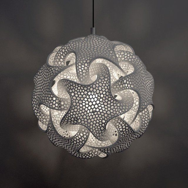 Quin.Mgx Pendant Lamp quin.mgx suspension/wall lamp series by bathsheba grossman for materialise http://www.thefancy.com/things/206813963055275001/Quin.Mgx-Pendant-Lamp
