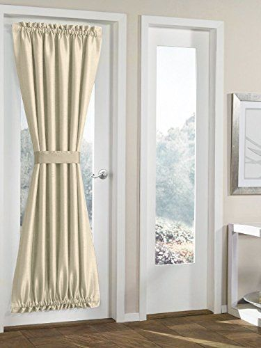 25 best ideas about french door curtains on pinterest patio door curtains curtains for. Black Bedroom Furniture Sets. Home Design Ideas