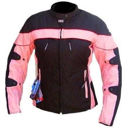Cbcooper Womens Black Pink Motorcycle Racing Waterproof Cordura Removable Armor Jackets S-2xl (xl) http://www.motorcyclegoods.com/14-best-waterproof-jackets-for-women/