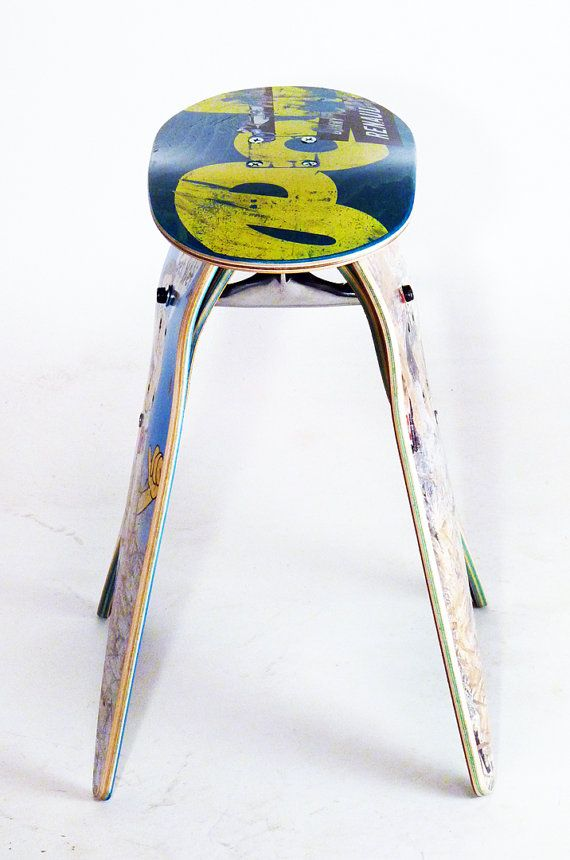 17 Best Images About Skateboard Stools By Deckstool On