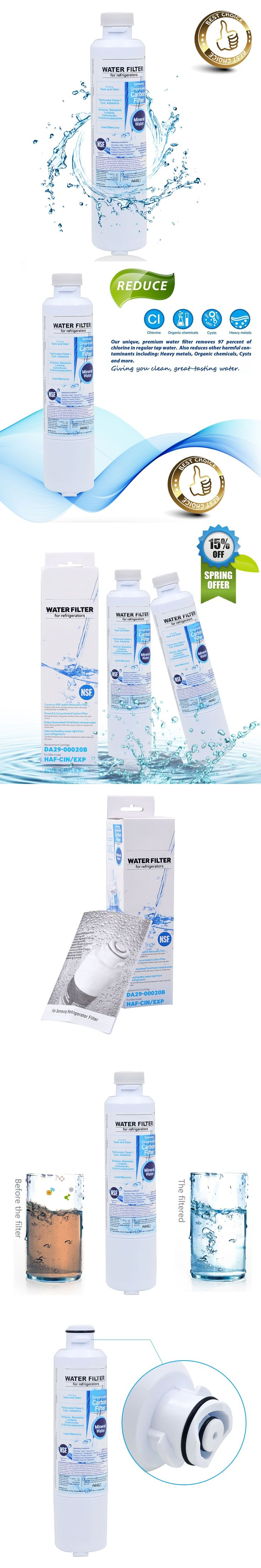 Hot Sale! Refrigerator Water Filter DA29-00020B Activated Carbon Replacement for Samsung DA29-00020B Water Filter 2 Pcs/lot