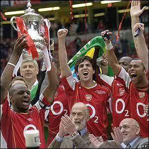 FA Cup Final 2005 (a rematch of the 1979 FA Cup Final) Arsenal 0 - 0…