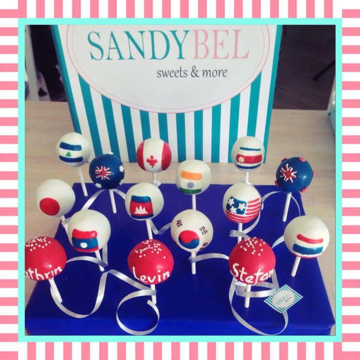 Welcome Back nach der Weltreise #cakepops by #sandybel #welcomeback #weltreise #nürnberg #fürth